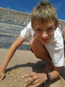 Crushing sand castles
