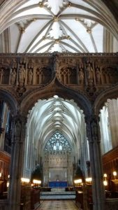 Bristol Cathedral interior