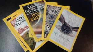 Selection of National Geographic magazines