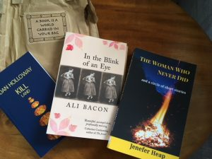 Books purchased from Hawkesbury Upton Literature Festival.